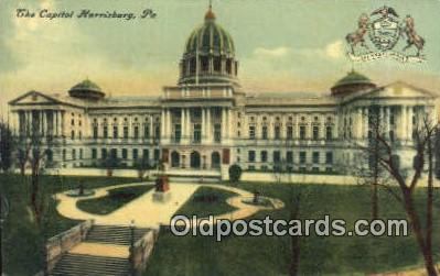 cap001978 - Harrisburg, Pennsylvania, PA  State Capital, Capitals Postcard Post Card USA