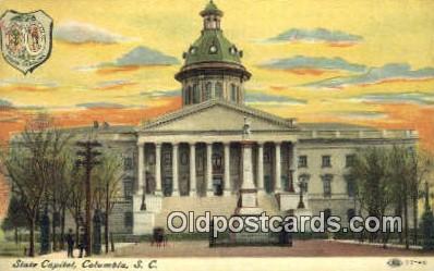 cap001980 - Columbia, South Carolina, SC State Capital, Capitals Postcard Post Card USA
