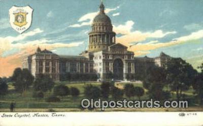 cap001983 - Austin, Texas, TX State Capital, Capitals Postcard Post Card USA