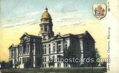 cap001987 - Cheyenne, Wyoming, WY  State Capital, Capitals Postcard Post Card USA
