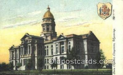 cap001988 - Cheyenne, Wyoming, WY  State Capital, Capitals Postcard Post Card USA