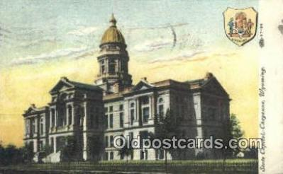cap001989 - Cheyenne, Wyoming, WY  State Capital, Capitals Postcard Post Card USA