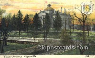 cap001994 - Augusta, Maine, ME State Capital, Capitals Postcard Post Card USA