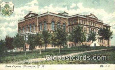 cap001999 - Bismarck, North Dakota, ND State Capital, Capitals Postcard Post Card USA