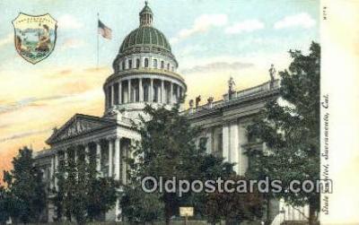 cap002003 - Sacramento, California, CA  State Capital, Capitals Postcard Post Card USA
