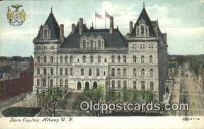 cap002011 - Albany, New York, NY  State Capital, Capitals Postcard Post Card USA