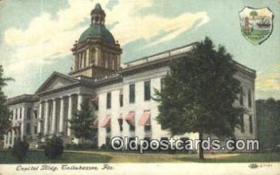 cap002016 - Tallahassee, Florida, FL State Capital, Capitals Postcard Post Card USA