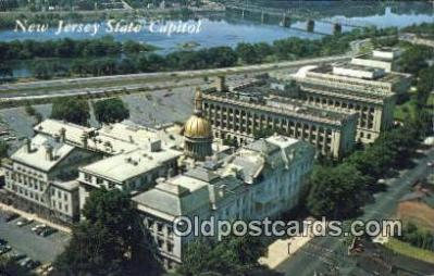 cap002035 - Trenton, New Jersey, NJ  State Capital, Capitals Postcard Post Card USA