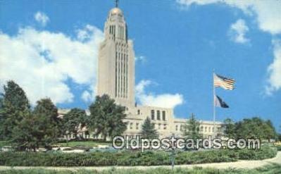 cap002038 - Lincoln, Nebraska, NE  State Capital, Capitals Postcard Post Card USA