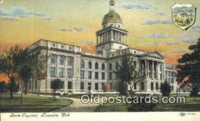 cap002039 - Lincoln, Nebraska, NE  State Capital, Capitals Postcard Post Card USA