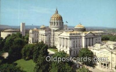 cap002040 - Harrisburg, Pennsylvania, PA  State Capital, Capitals Postcard Post Card USA