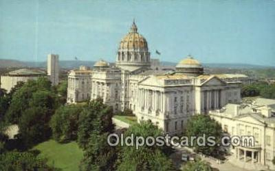 cap002041 - Harrisburg, Pennsylvania, PA  State Capital, Capitals Postcard Post Card USA