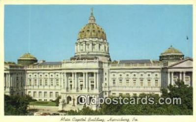 cap002043 - Harrisburg, Pennsylvania, PA  State Capital, Capitals Postcard Post Card USA
