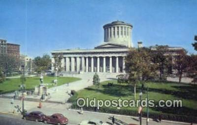 cap002046 - Columbus, Ohio, OH  State Capital, Capitals Postcard Post Card USA