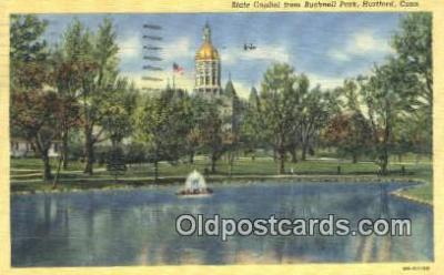 cap002059 - Hartford, Connecticut, CT State Capital, Capitals Postcard Post Card USA