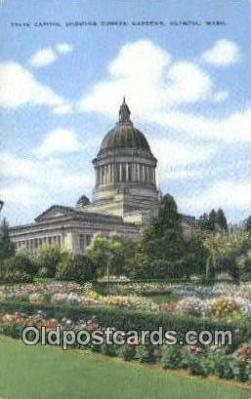cap002066 - Olympia, Washington, WA  State Capital, Capitals Postcard Post Card USA