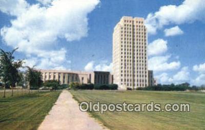 cap002069 - Bismarck, North Dakota, ND State Capital, Capitals Postcard Post Card USA