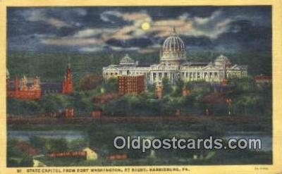 cap002072 - Harrisburg, Pennsylvania, PA  State Capital, Capitals Postcard Post Card USA