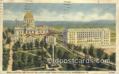 cap002073 - Harrisburg, Pennsylvania, PA  State Capital, Capitals Postcard Post Card USA