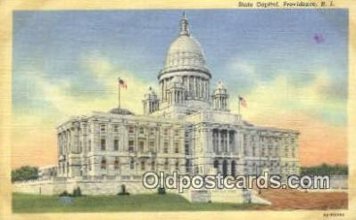 cap002075 - Providence, Rhode Island, RI State Capital, Capitals Postcard Post Card USA