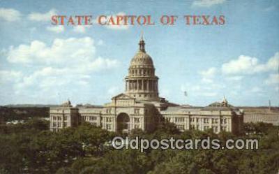 cap002076 - Austin, Texas, TX State Capital, Capitals Postcard Post Card USA