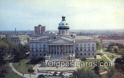 cap002077 - Columbia, South Carolina, SC State Capital, Capitals Postcard Post Card USA