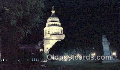 cap002079 - Austin, Texas, TX State Capital, Capitals Postcard Post Card USA