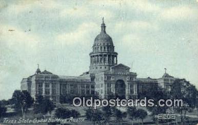 cap002083 - Austin, Texas, TX State Capital, Capitals Postcard Post Card USA