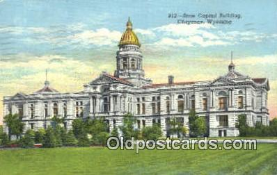 cap002110 - Cheyenne, Wyoming, WY  State Capital, Capitals Postcard Post Card USA