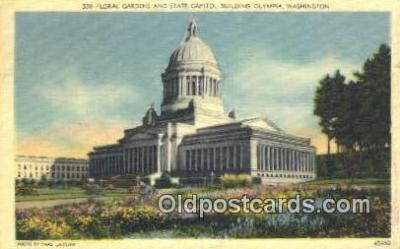 cap002124 - Olympia, Washington, WA  State Capital, Capitals Postcard Post Card USA