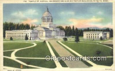 cap002125 - Olympia, Washington, WA  State Capital, Capitals Postcard Post Card USA