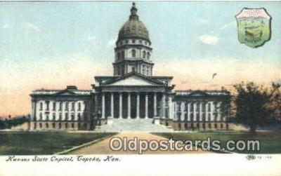 cap002129 - Topeka, Kansas, KS  State Capital, Capitals Postcard Post Card USA