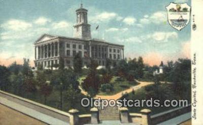 cap002133 - Nashville, Tennessee, TN State Capital, Capitals Postcard Post Card USA