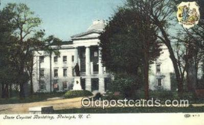 cap002134 - Raleigh, North Carolina, NC  State Capital, Capitals Postcard Post Card USA