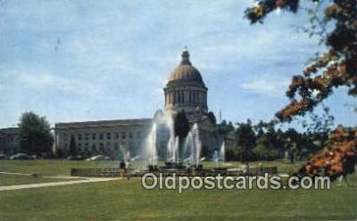 cap002143 - Olympia, Washington, WA  State Capital, Capitals Postcard Post Card USA