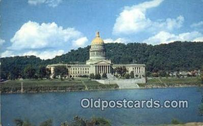 cap002147 - Charleston, West Virginia, WV State Capital, Capitals Postcard Post Card USA