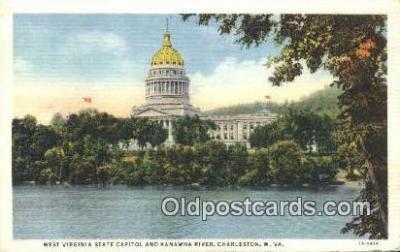 cap002151 - Charleston, West Virginia, WV State Capital, Capitals Postcard Post Card USA