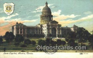 cap002156 - Austin, Texas, TX State Capital, Capitals Postcard Post Card USA