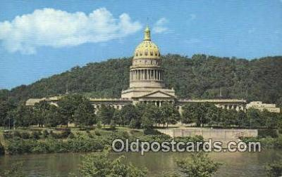cap002158 - Charleston, West Virginia, WV State Capital, Capitals Postcard Post Card USA