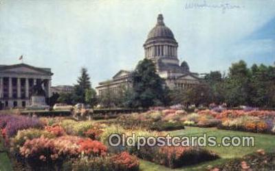 cap002165 - Olympia, Washington, WA  State Capital, Capitals Postcard Post Card USA