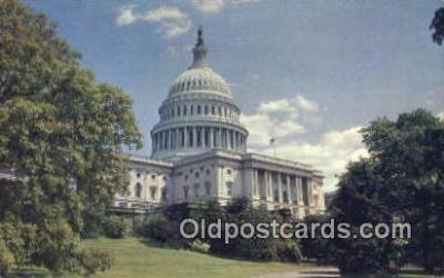 cap002166 - Washington DC State Capital, Capitals Postcard Post Card USA