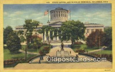cap002168 - Columbus, Ohio, OH  State Capital, Capitals Postcard Post Card USA