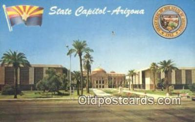 cap002169 - Phoenix, Arizona, AZ State Capital, Capitals Postcard Post Card USA
