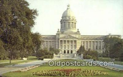 cap002176 - Frankfort, Kentucky, KY State Capital, Capitals Postcard Post Card USA