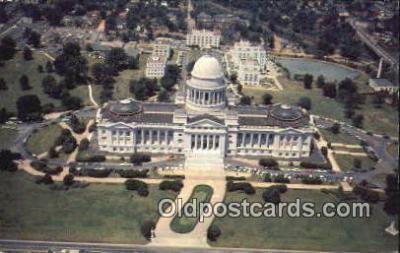 cap002177 - Little Rock, Arkansas, AR State Capital, Capitals Postcard Post Card USA