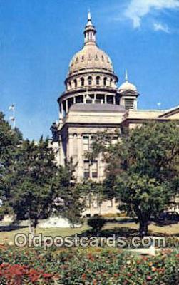 cap002178 - Austin, Texas, TX State Capital, Capitals Postcard Post Card USA