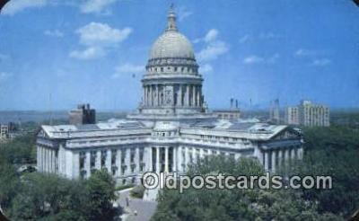 cap002183 - Madison, Wisconsin, WI State Capital, Capitals Postcard Post Card USA