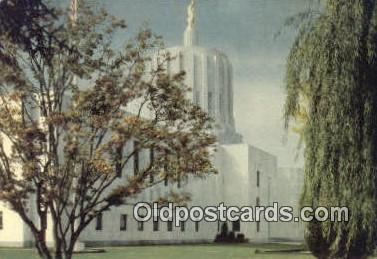 cap002198 - Salem, Oregon, OR  State Capital, Capitals Postcard Post Card USA