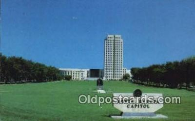 cap002203 - Bismarck, North Dakota, ND State Capital, Capitals Postcard Post Card USA