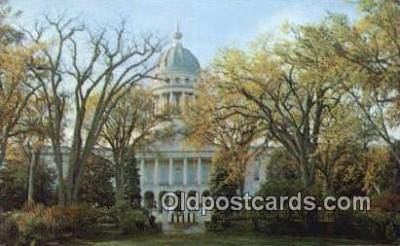 cap002211 - Augusta, Maine, ME State Capital, Capitals Postcard Post Card USA